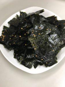 病気予防には海苔を食べよう!海苔のバター焼きを作ってみました