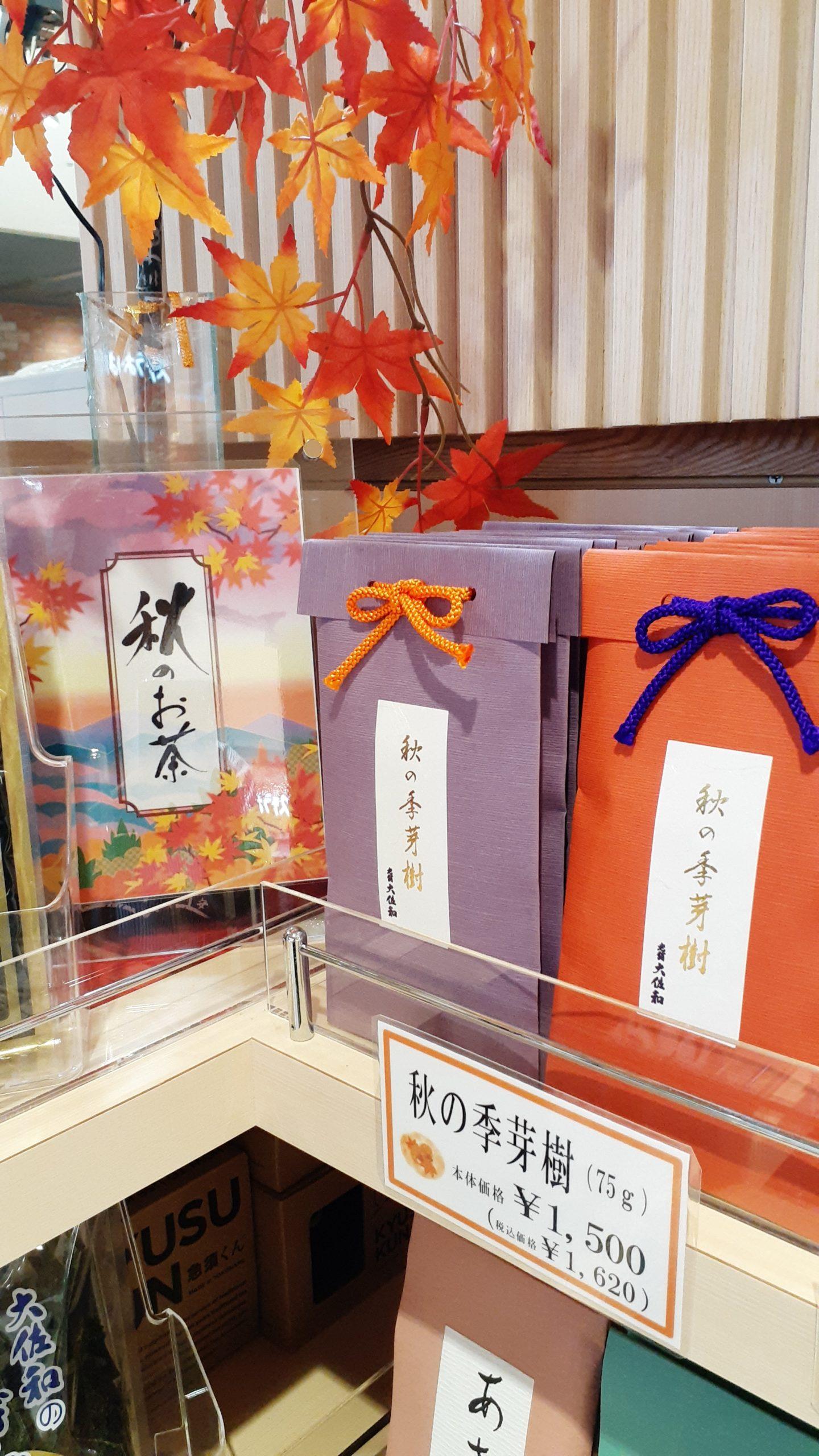 吉村スタッフブログ【日本茶ねほりはほり】の取材をうけました♪