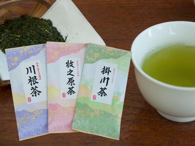 静岡茶「川根茶」、「牧之原茶」、「掛川茶」販売開始♪