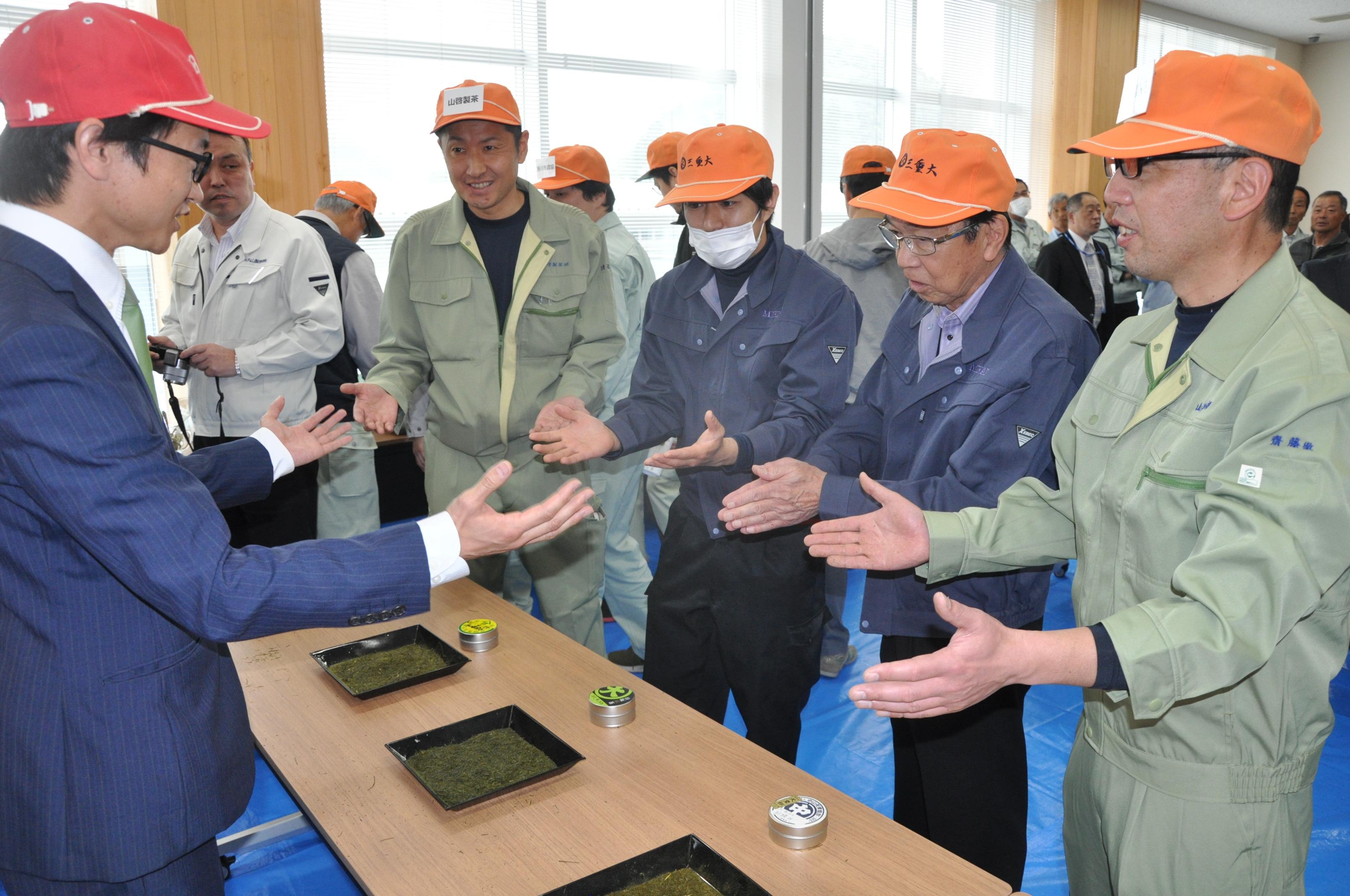 さぁ!静岡の新茶くるぞ! 掛川新茶 初取引レポート